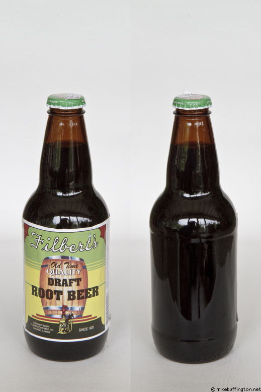 Filbert's Old Time Quality Draft Root Beer