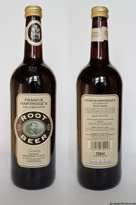 Francis Hartridge's Celebrated Root Beer (Big Bottle)