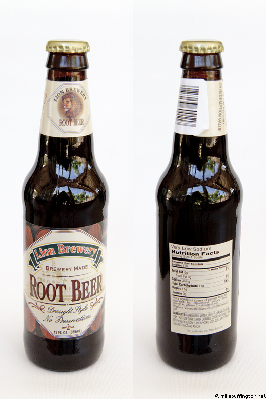 Lion Brewery Root Beer