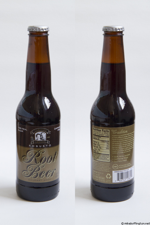 Caruso's Legacy Robusto Root Beer