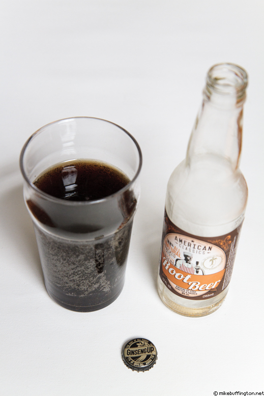 American Classics Root Beer Poured