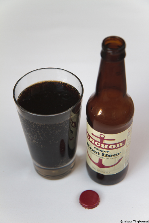 Anchor Ginger Root Beer Poured