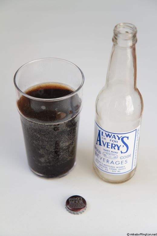 Avery's Root Beer Poured