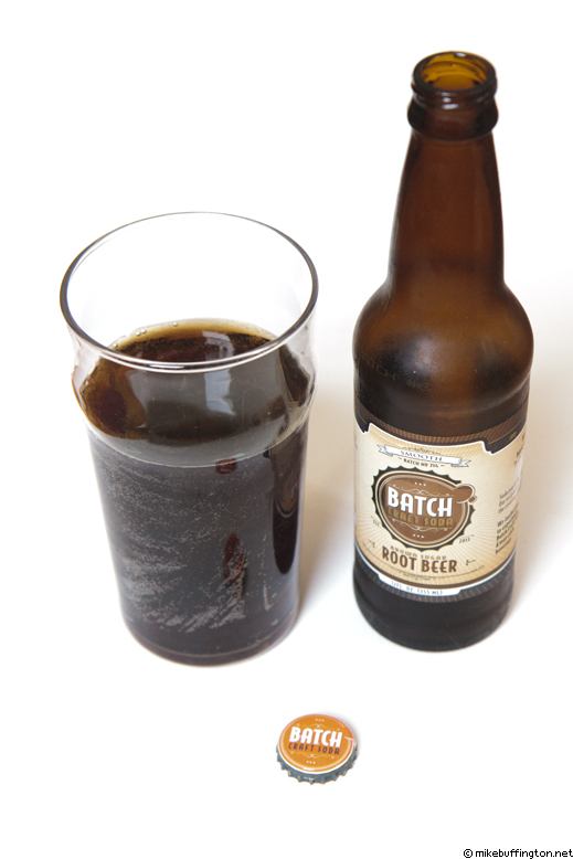 Batch Craft Soda Brown Sugar Root Beer Poured