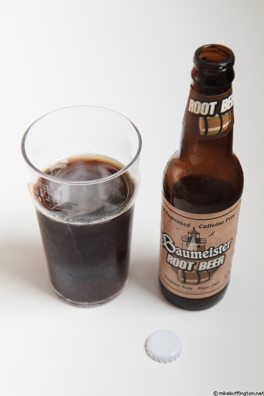Baumeister Root Beer Poured