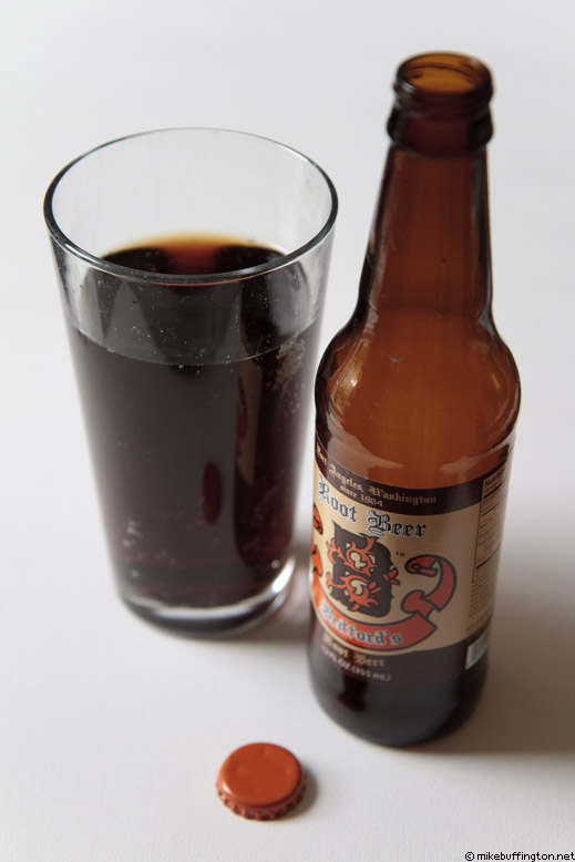 Bedford's Root Beer Poured