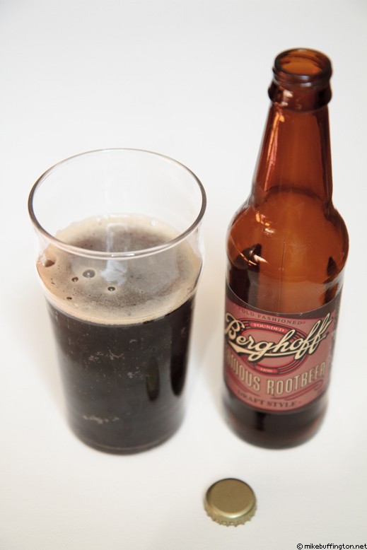 Berghoff Famous Rootbeer Poured