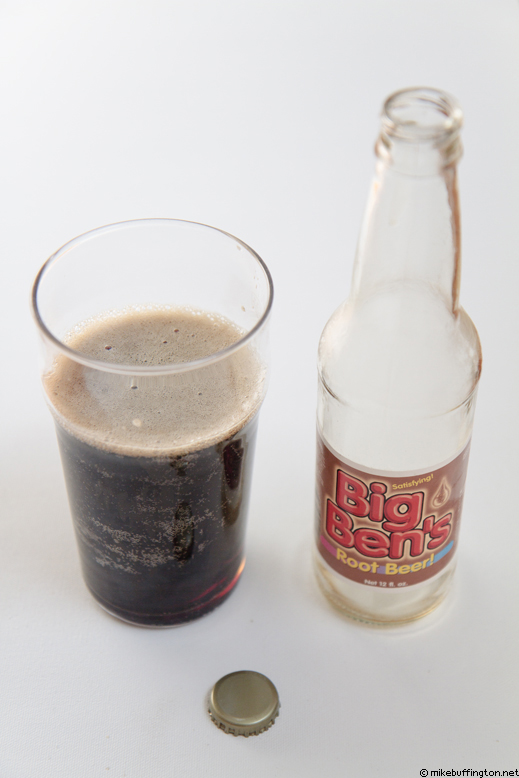 Big Ben's Root Beer Poured