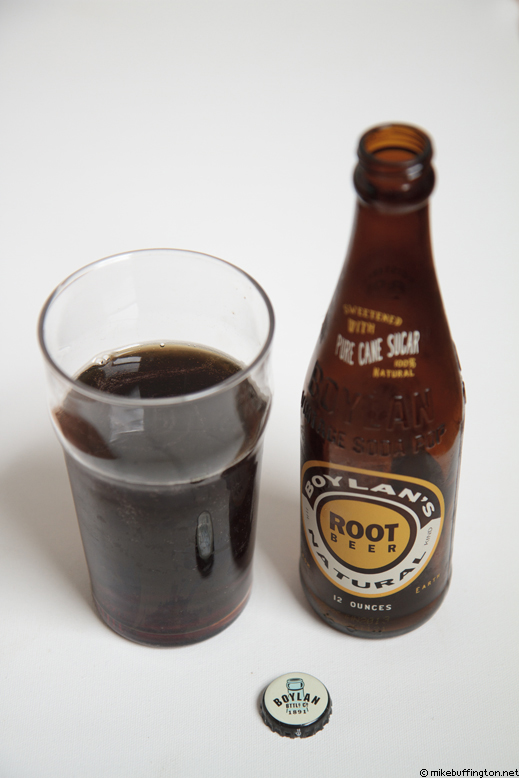 Boylan's Natural Root Beer Poured