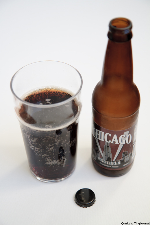 Chicago Root Beer Poured