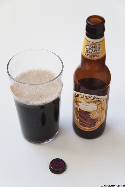 Coney Island Hard Root Beer Poured