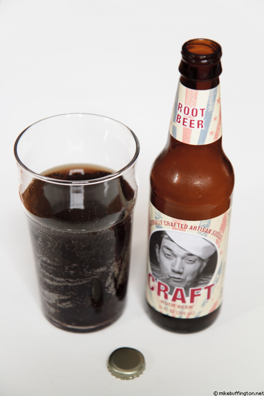 Craft Root Beer Poured