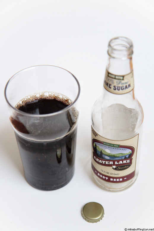 Crater Lake Root Beer Poured
