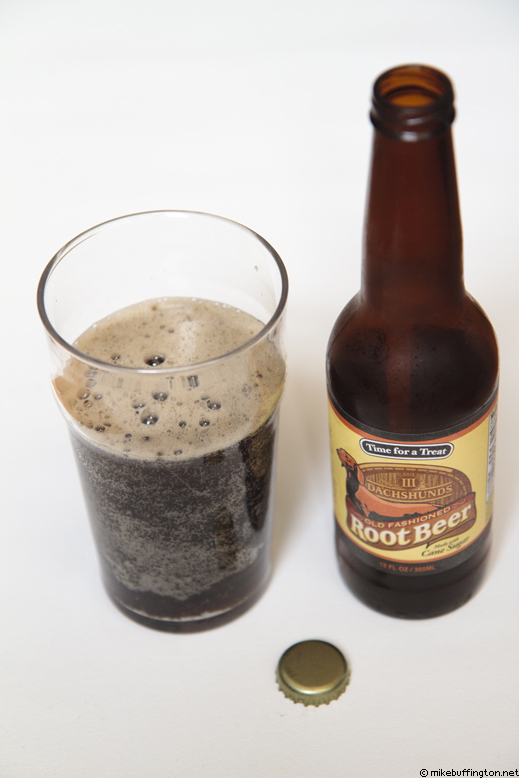 Dachshunds Root Beer Poured