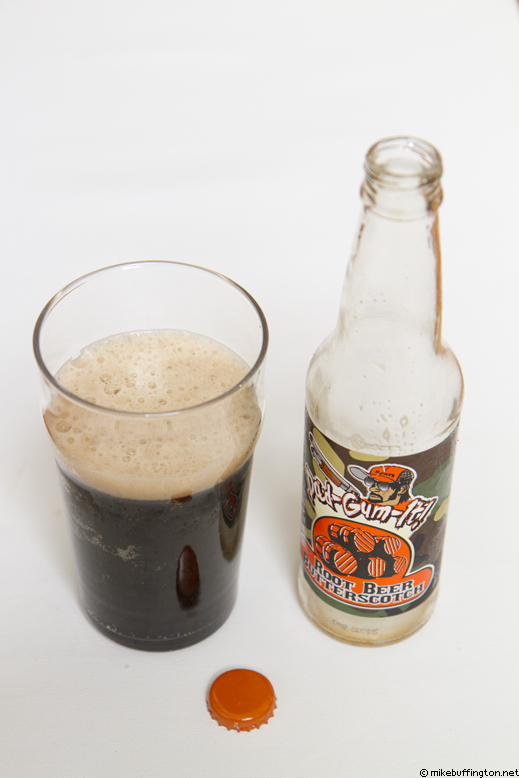 Dad-Gum-It! Root Beer Butterscotch Poured