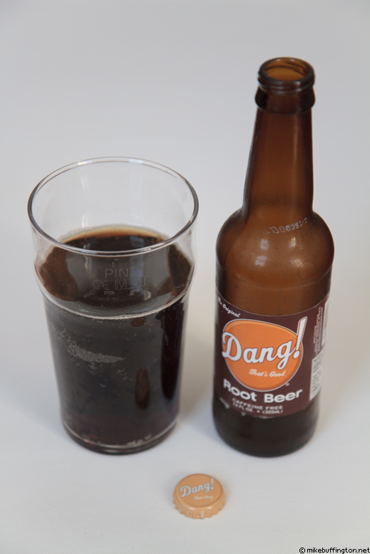 Dang! That's Good Root Beer Poured