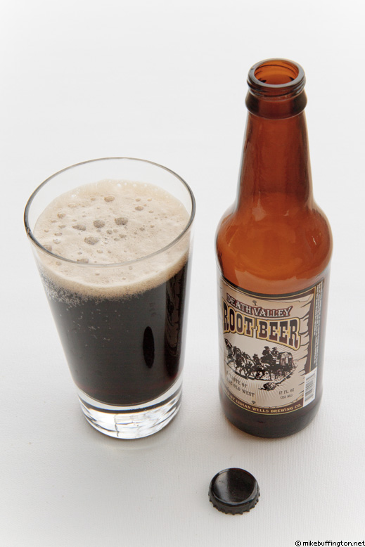 Death Valley Root Beer Poured