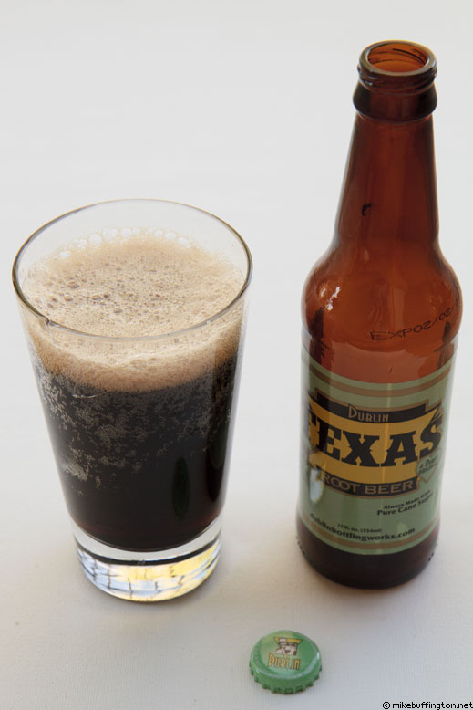 Dublin Texas Root Beer Poured