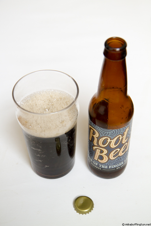 Soda of the Finger Lakes Root Beer Poured