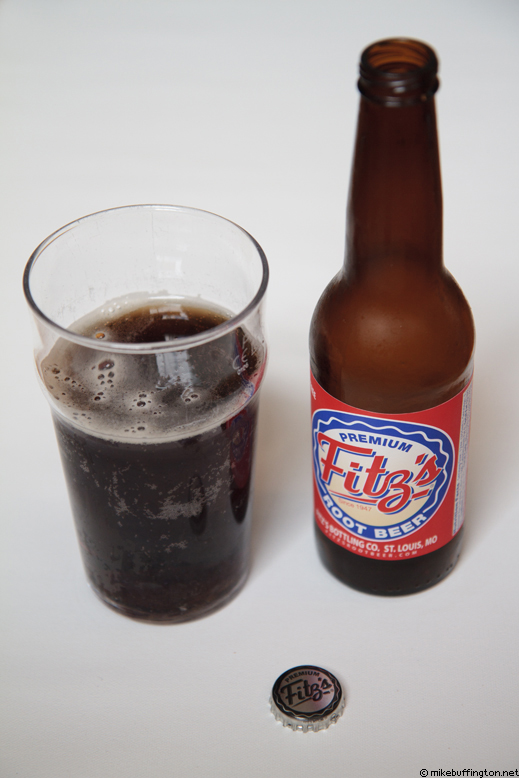 Fitz's Premium Root Beer Poured