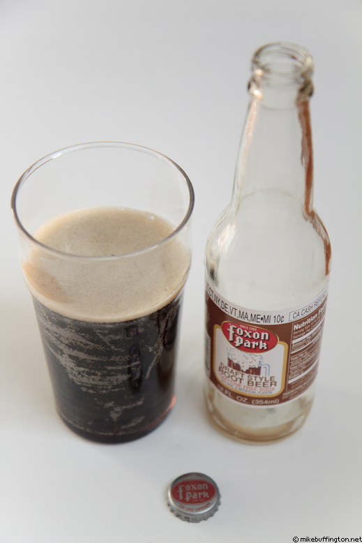 Foxon Park Root Beer Poured