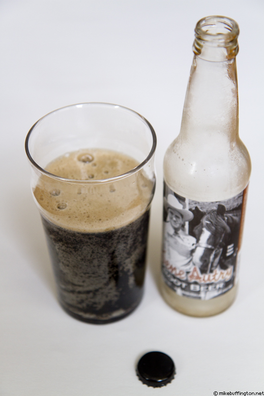 Gene Autry Root Beer Poured