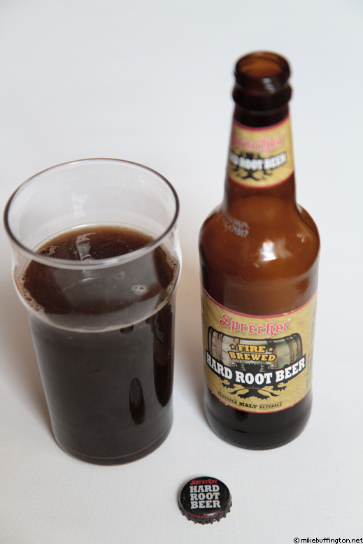Sprecher Hard Root Beer Poured