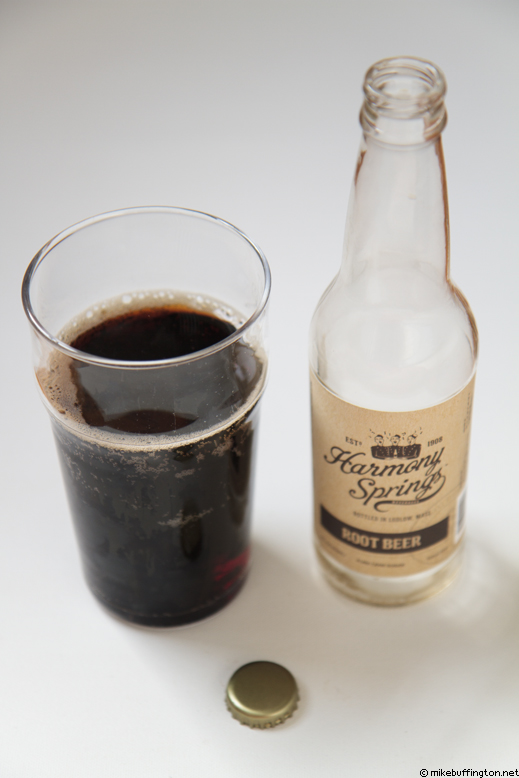 Harmony Springs Root Beer Poured