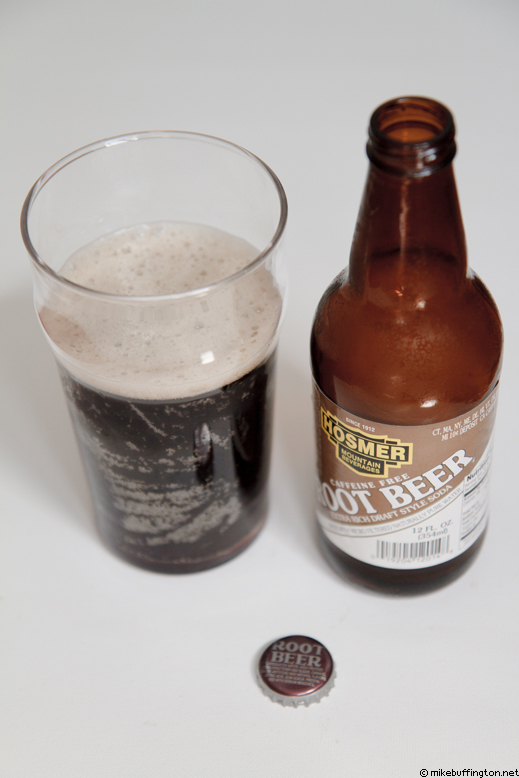 Hosmer Mountain Root Beer Poured