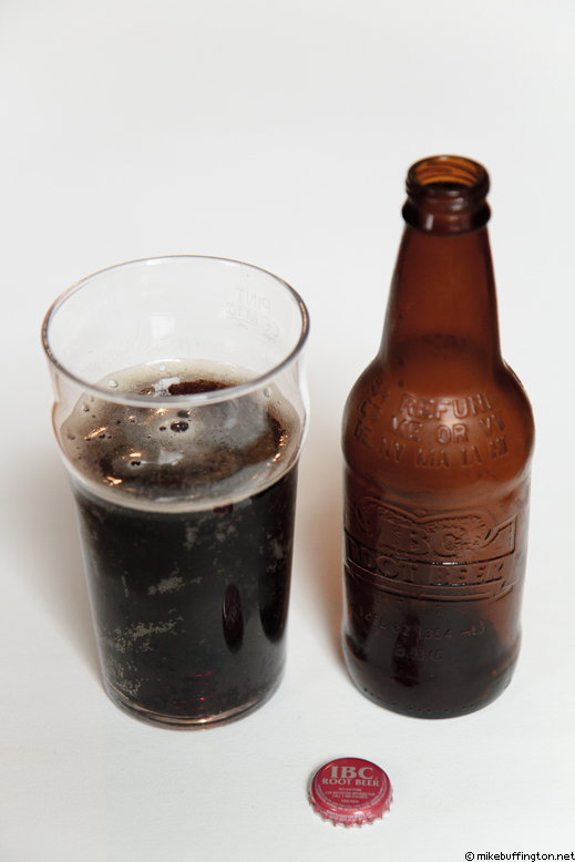 IBC Root Beer Poured