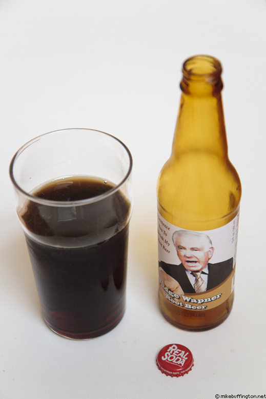 Judge Wapner Root Beer Poured