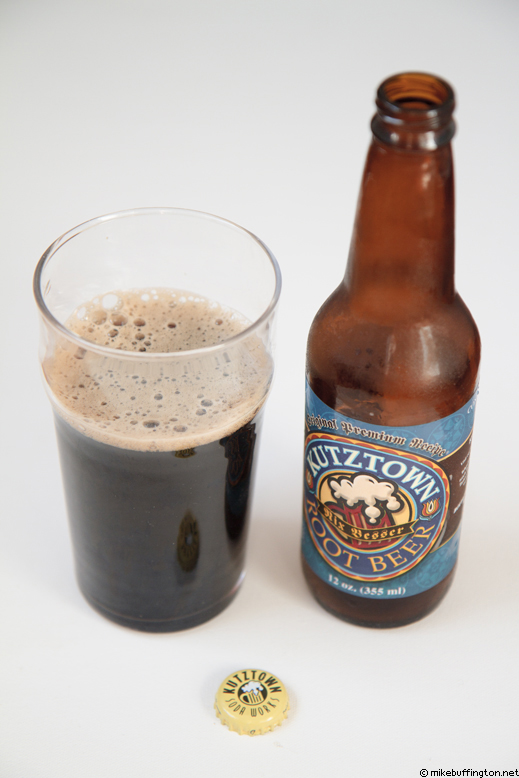 Kutztown Root Beer Poured