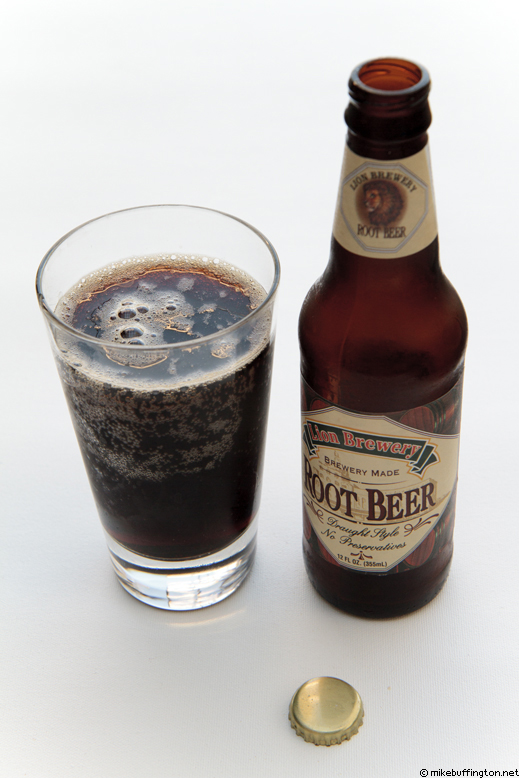 Lion Brewery Root Beer Poured