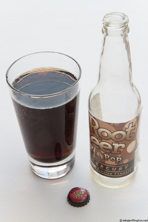 Mercury Root Beer Poured