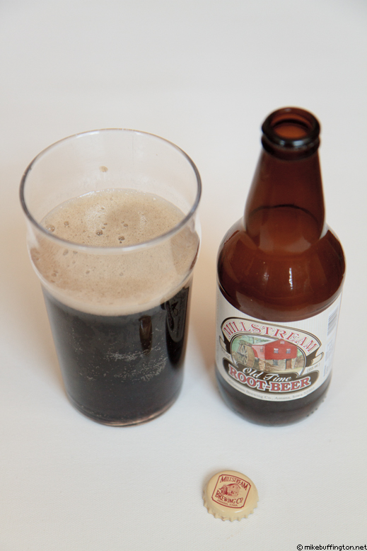 Millstream Old Time Root-Beer Poured