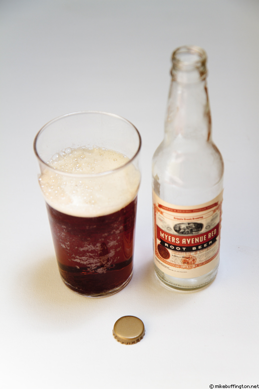 Myers Avenue Red Root Beer Poured