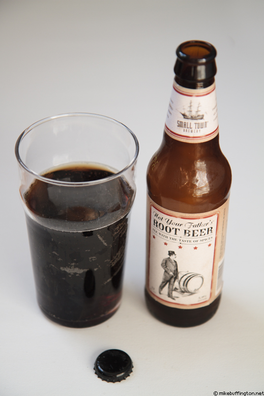 Not Your Father's Root Beer Poured