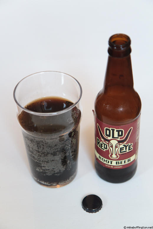Old Red Eye Root Beer Poured