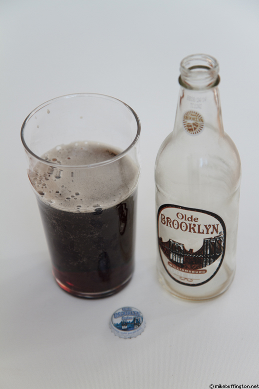 Olde Brooklyn Williamsburg Root Beer Poured