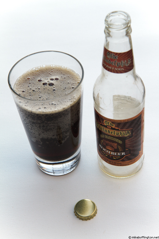 Olde Philadelphia Root Beer Poured