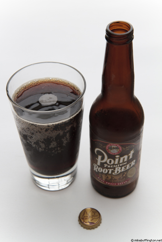 Point Premium Root Beer Poured