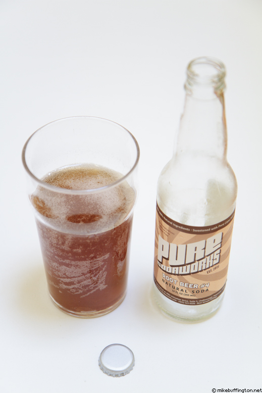 Pure Sodaworks Root Beer #4 Poured
