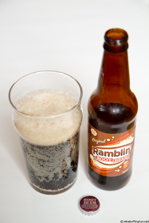 Ramblin' Root Beer Poured