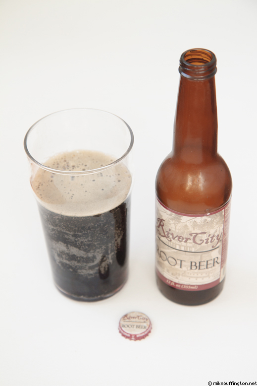 River City Root Beer Poured