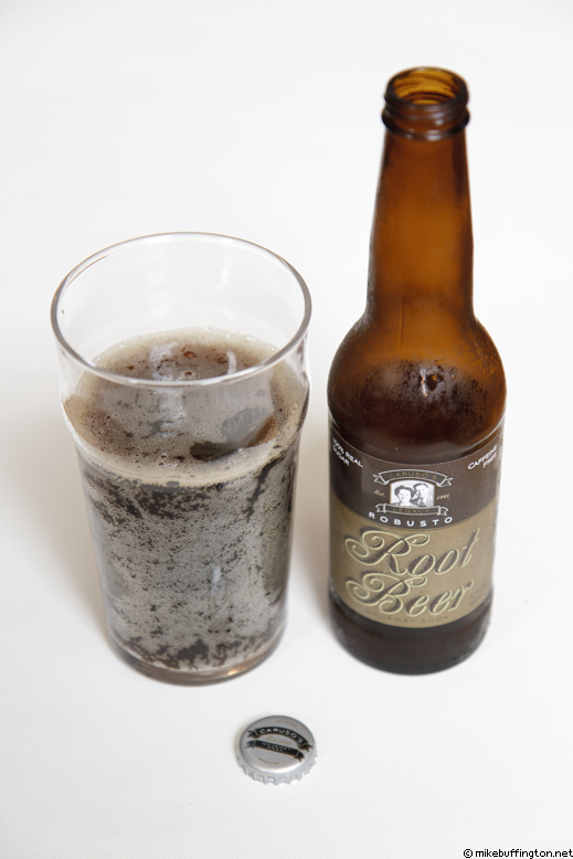 Caruso's Legacy Robusto Root Beer Poured