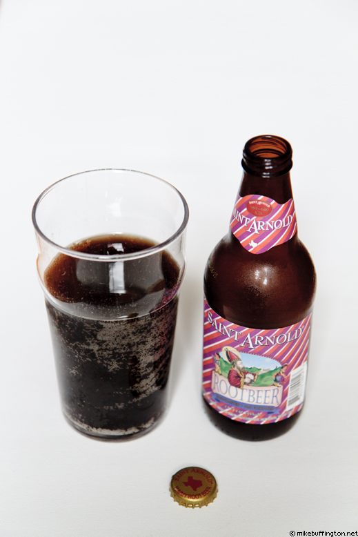 Saint Arnold Root Beer Poured