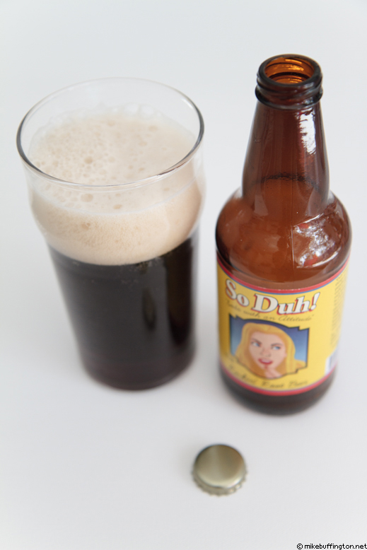 So Duh! Rockin' Root Beer Poured