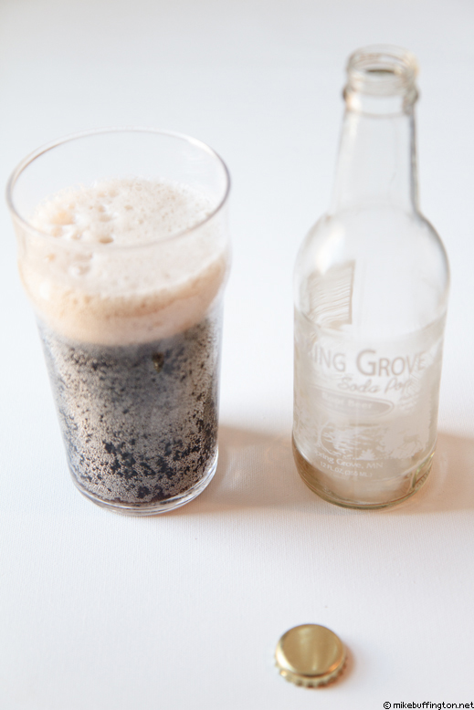 Spring Grove Root Beer Poured