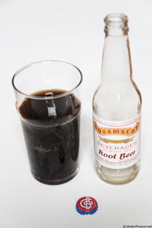 Squamscot Old Fashioned Root Beer Poured