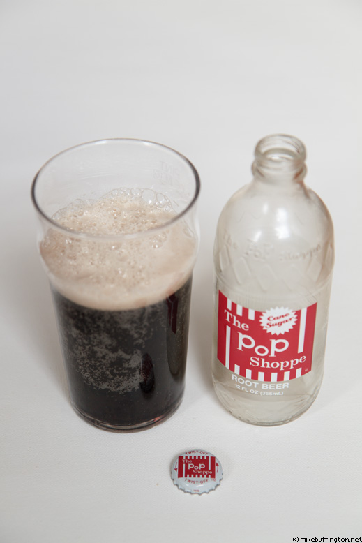 The Pop Shoppe Root Beer Poured